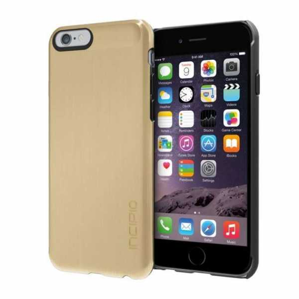 Apple iPhone 6 Hülle - Incipio - Feather SHINE Case - gold - yourmobile.ch