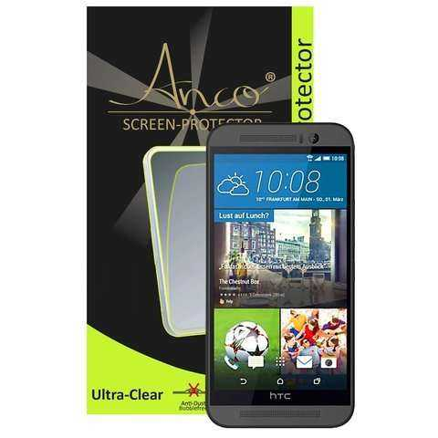 HTC One M9 Schutzfolie - Anco - Ultra-clear Displayschutz - yourmobile.ch - 24610