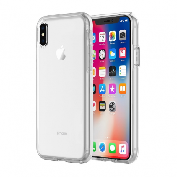 Apple iPhone XS / X Hülle - Incipio DualPro Pure Case - transparent