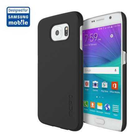 Samsung Galaxy S6 Hülle - Incipio - Feather Case - schwarz - yourmobile.ch 1
