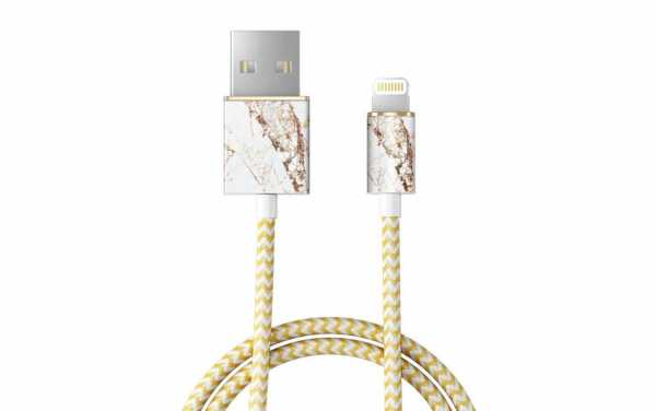 iDeal of Sweden - Fashion Lightning Kabel - Carrara Gold