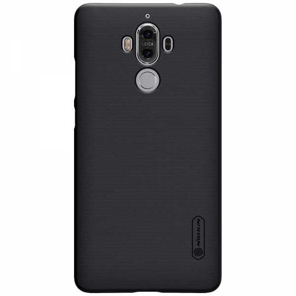 Huawei Mate 9 Hülle - Nillkin - Frosted Shield Premium Cover - schwarz - yourmobile.ch