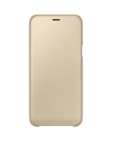 Samsung Galaxy A6 (2018) Hülle - Samsung Wallet Cover - gold