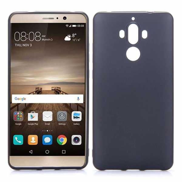 Huawei Mate 9 Hülle - KST - Back Cover - schwarz - yourmobile.ch