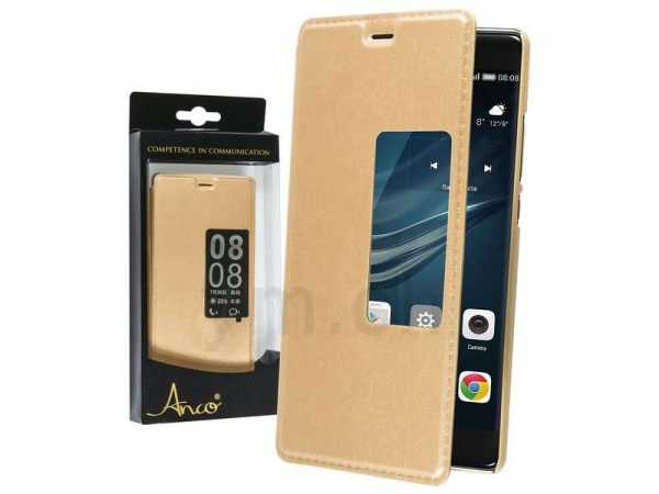 Huawei P9 Case - Anco - View Bookcover - gold - yourmobile.ch