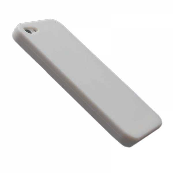 Silicon Soft Case - Schutzhülle - Apple iPhone 5 - 5S - weiss - yourmobile.ch
