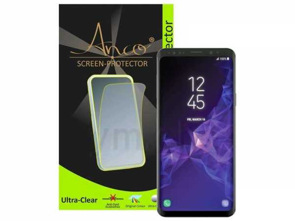 Anco Displayschutzfolie - ultra-clear - Samsung Galaxy S9 Folie