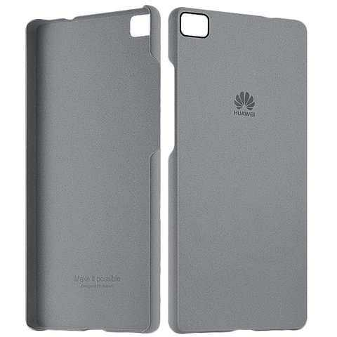 Huawei Ascend P8 Lite Hülle - Huawei - Protective Case - dunkelgrau - yourmobile.ch - 26116