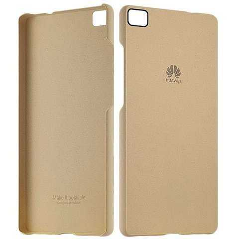 Huawei Ascend P8 Lite Hülle - Huawei - Protective Case - gold - yourmobile.ch - 26004
