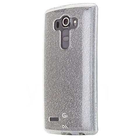 LG G4 Hülle - case-mate - Naked Tough Sheer Glam Case - Glitzereffekt - yourmobile.ch - 26015