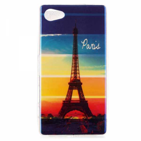 Sony Xperia Z5 Hülle - SoftCase - Paris the City of Love - yourmobile.ch