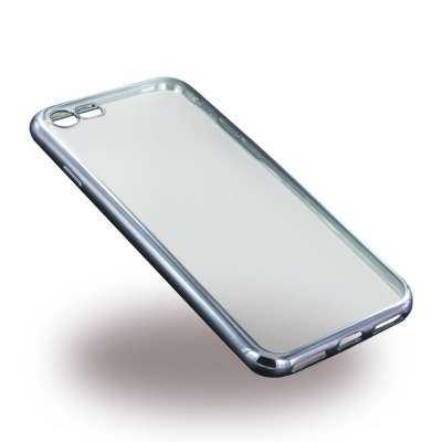 Apple iPhone 7 / 6S / 6  Hülle - UreParts - TPU Softcover - transparent-schwarz - yourmobile.ch