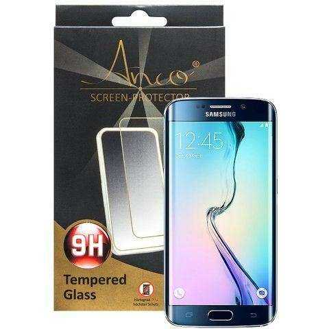 Samsung Galaxy S6 Edge Schutzfolie - Anco - Tempered Glass - Härtegrad 8H - yourmobile.ch - 24739
