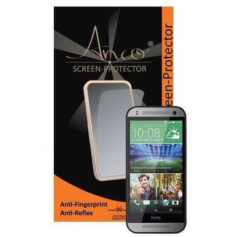 Anco Displayschutzfolie - Anti-Fingerprint - HTC One mini 2 - yourmobile.ch - 20691