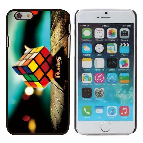 Apple iPhone 6 Hülle - Hard Cover - Rubik's Cube - yourmobile.ch 1