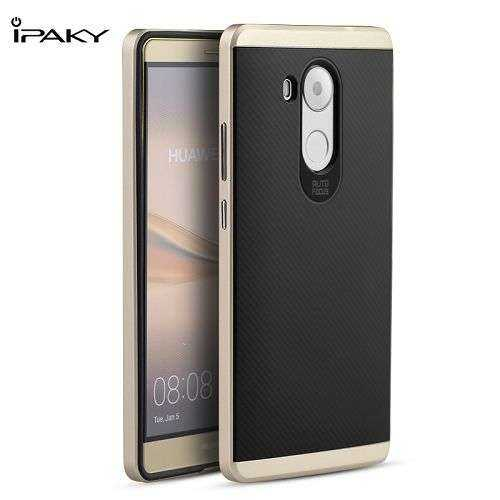Huawei Mate 8 Hülle - Classic Fashion Cover - Ipaky - gold - yourmobile.ch