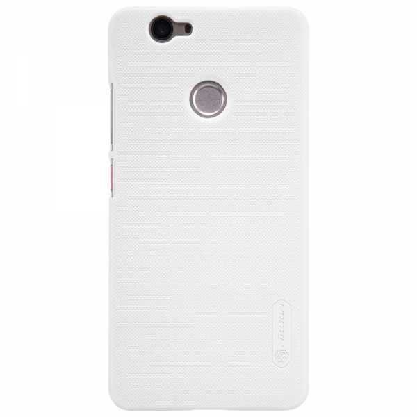 Huawei Nova Hülle - Nillkin - Frosted Shield Premium Cover - weiss - yourmobile.ch