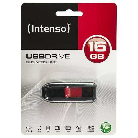 Intenso - USB-Stick - G2 DataTraveler - 16GB - schwarz - yourmobile.ch - 22084