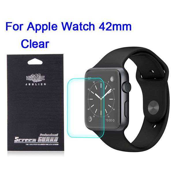 Apple Watch 42mm Schutzfolie - Clear Screen Protector - yourmobile.ch 1
