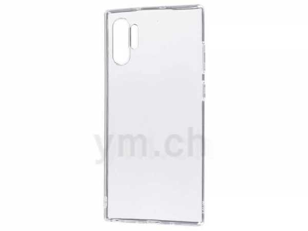 Samsung Galaxy Note 10 Plus Hülle - Soft Case - Super Slim TPU - transparent