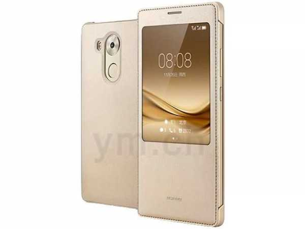 Huawei Mate 8 Case - Huawei - View BookCase - gold - yourmobile.ch