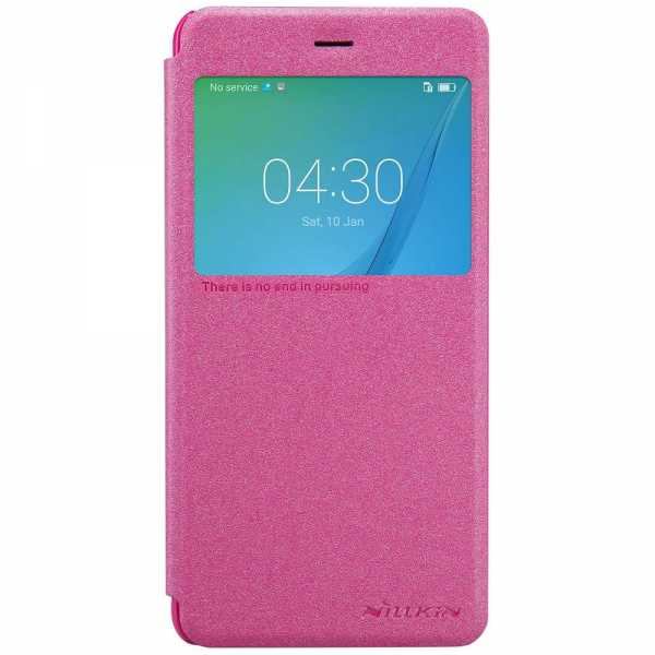 Huawei Nova Case - Nillkin - S-View Bookcover - pink - yourmobile.ch
