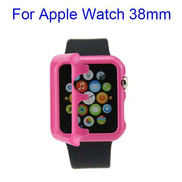 Apple Watch 38mm Hülle - HardCase - pink - yourmobile.ch 1
