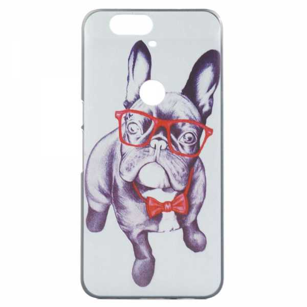 Huawei Nexus 6P Hülle - Hard Case - Cool Dog - yourmobile.ch