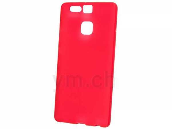 Huawei P9 Lite Hülle - Ultra Slim Case - TPU - rot - yourmobile.ch