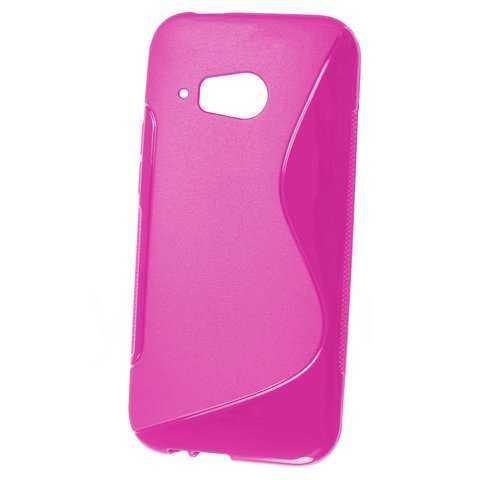 Rubber Case Wave - HTC One mini 2 - pink - yourmobile.ch - 20718
