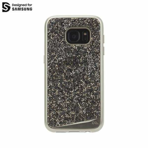 Samsung Galaxy S7 Hülle - Brilliance Case - case-mate - gold-champagner - yourmobile.ch