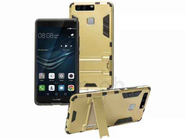 Huawei P9 Hülle - Defender Cover - Anco - gold - yourmobile.ch