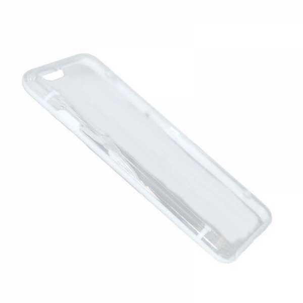Apple iPhone 6 Hülle - cyoo - transparent - weiss - yourmobile.ch