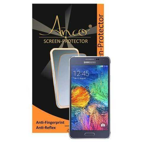 Anco - Displayschutzfolie - Anti-Fingerprint - Samsung Galaxy Alpha Folie - yourmobile.ch - 22407