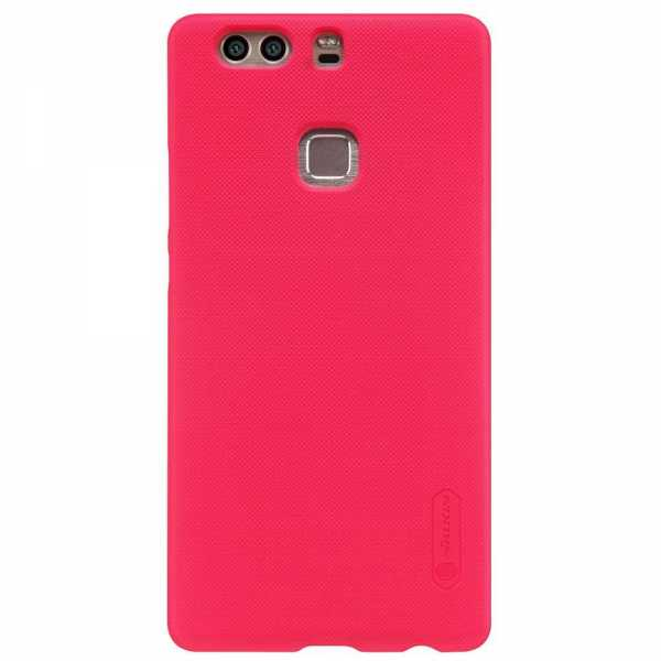 Huawei P9 Plus Hülle - Nillkin - Frosted Shield Premium Cover - rot - yourmobile.ch