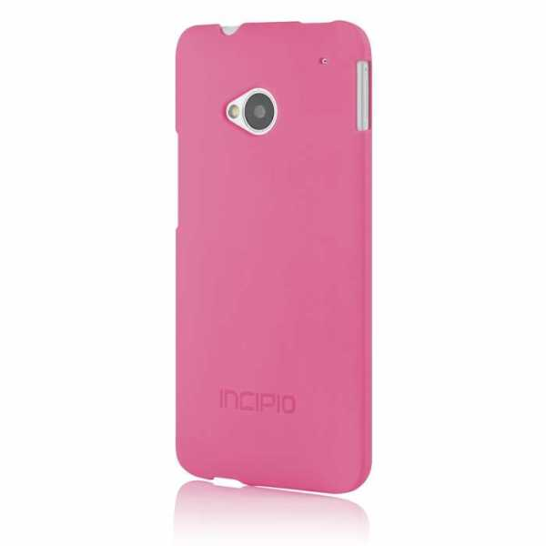HTC One Feather Case / Shell von Incipio – pink