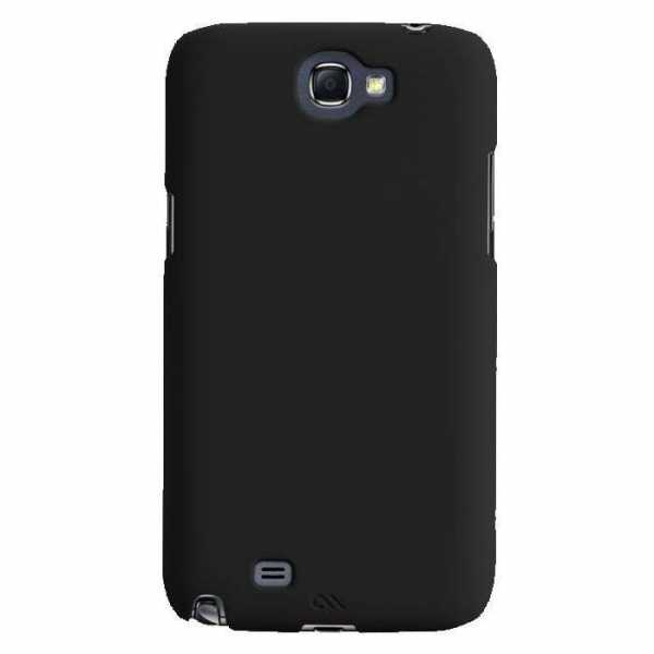 case-mate Barely There case für Samsung Galaxy Note 2 schwarz