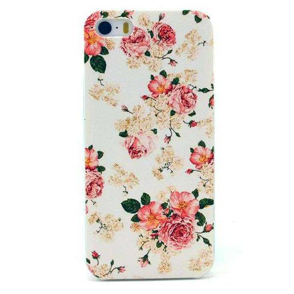 Apple iPhone 5 und 5S Hülle - Hard Cover - Rosen - yourmobile.ch 1