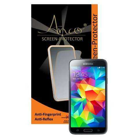 Anco Displayschutzfolie - Anti-Fingerprint - Samsung Galaxy S5 - yourmobile.ch -19463