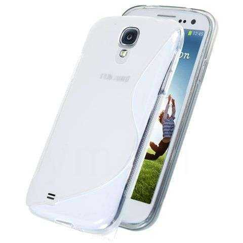 Kunststoff GEL Case S-Curve für Samsung Galaxy S4, clear - yourmobile.ch -15436