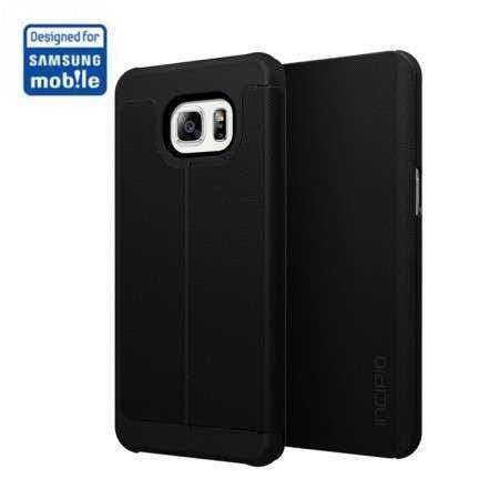 Samsung Galaxy S6 Edge+ Case - Incipio - Lancaster Folio Case - Kunstleder - schwarz - yourmobile.ch 1