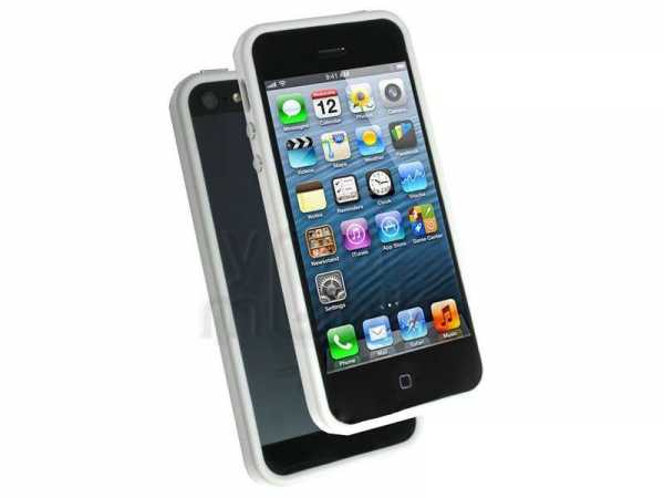 Apple iPhone 5 / 5S TPU Bumper - weiss