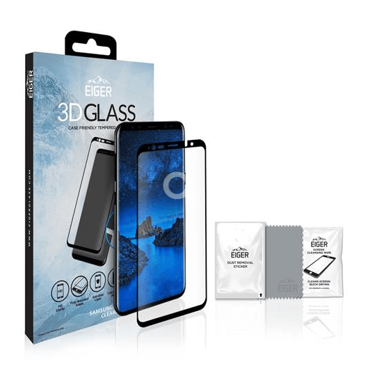 Samsung Galaxy S9 - 3D Glass - Case Friendly - Härtegrad 9H