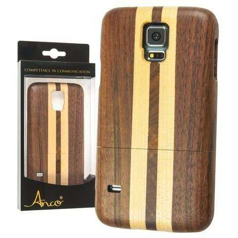 Anco Duo - Echtholz Cover Bamboo - Samsung Galaxy S5 - yourmobile.ch - 21024