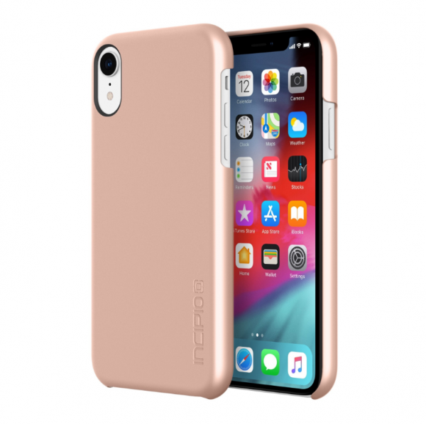 Apple iPhone XR Hülle - Incipio - Feather Case - rose gold