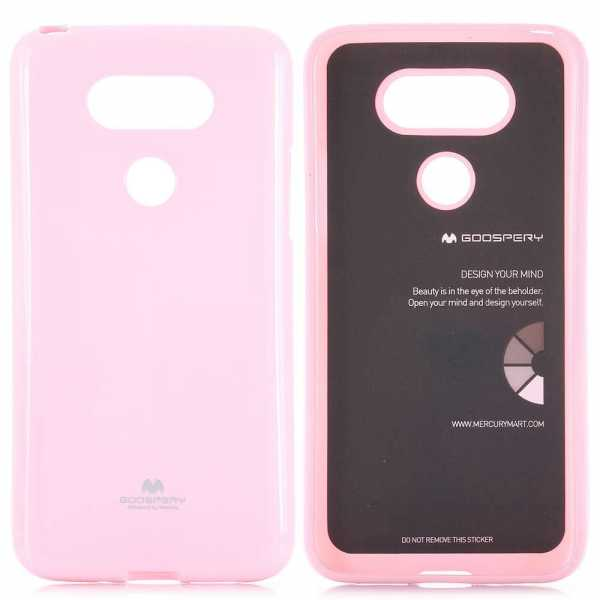 lg g5 h lle mercury goospery jelly cover rosa. Black Bedroom Furniture Sets. Home Design Ideas