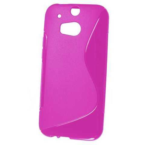 Rubber Case Wave - HTC One M8 - pink - yourmobile.ch - 20070