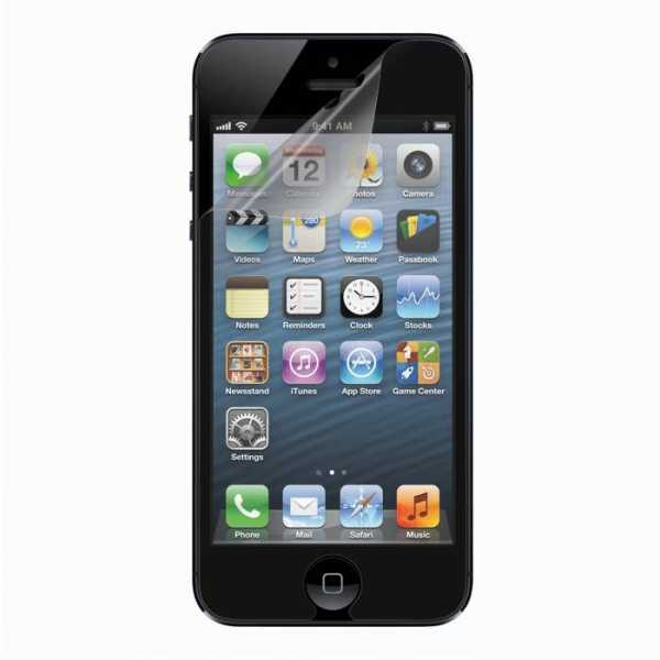 Apple iPhone 5 / 5S / SE Schutzfolie - Anco - Anti-Fingerprint - yourmobile.ch