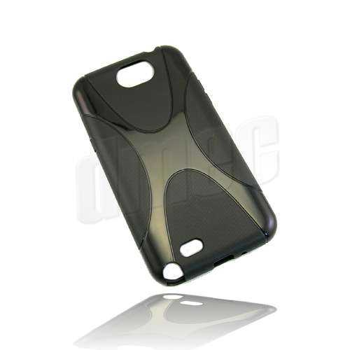 Design Gel Case X-Line für Samsung Galaxy Note 2 N7100, schwarz