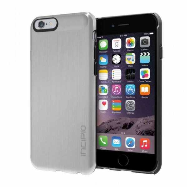 Apple iPhone 6 Hülle - Incipio - Feather SHINE Case - silber - yourmobile.ch